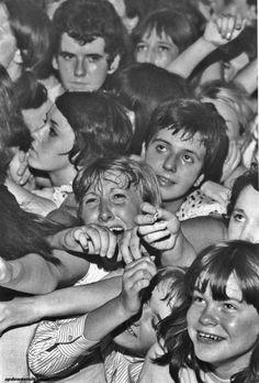 Rolling Stones fans - London, August '64