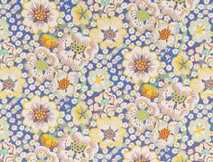 Eldblomman by Josef Frank for Svenkst Tenn wallpaper | goop