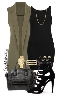 """""""#653"""" by gypsyroseboutique on Polyvore featuring Topshop, MANGO, Bianca Pratt, Cartier, River Island and Michael Kors"""