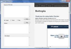 Check out bottopias index checker ;)