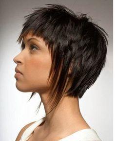 Mujer: Estilo y Belleza: Cortes de Pelo Corto Asimétrico 2014