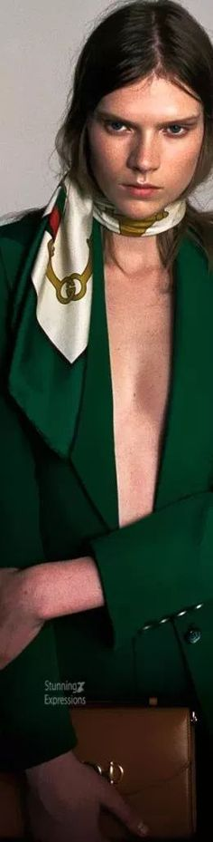 Gucci Fashion, Gucci Accessories, Green Fashion, Shades Of Green, Green Colors, Style Inspiration, Outfits, Beautiful, Passion