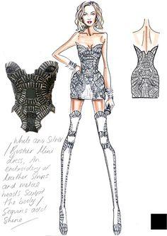 Beyoncè ha scelto di indossare abiti appositamente disegnati per lei da Atelier Versace per aprire e chiudere lo spettacolo. A voi i bozzetti.http://www.sfilate.it/221043/primi-bozzetti-di-versace-per-il-tour-di-beyonce