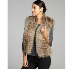 3rd season in a row that i can wear my faux fur vest - great investment!