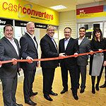 Second hand retail giant, Cash Converters, has opened the doors to its newly expanded head office this week [just off Northwich Road in Preston Brook].
