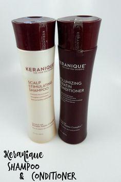 Keranique Shampoo & Conditioner #beauty #bbloggers #hair #keraniquehair #iFabboMember