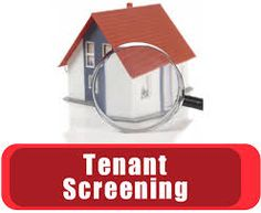 How do landlords check a tenant's rental history?