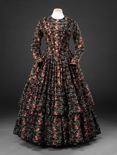 Dress    Second half of the 1840s