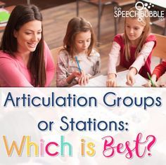 Articulation groups can be tough  to work with to give everyone the necessary time with you to make progress.  Groups are a new option but are they really that great? Find out here!
