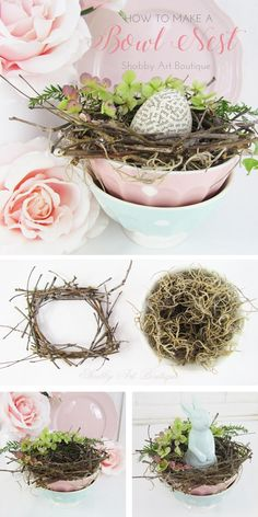 Adding Cottage Elements for Easter - Shabby Art Boutique