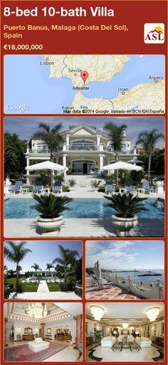 8-bed 10-bath Villa in Puerto Banus, Malaga (Costa Del Sol), Spain ►€18,000,000 #PropertyForSaleInSpain