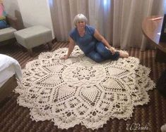 salfetka kover doily albom the best of patricia kristoffersen ltbrgt crochet homeltbrgt crochet rugsltbrgt crochet patternsltbrgt doiliesltbrgt the o - PIPicStats Crochet rug crochet carpet doily lace rug by eMDesignBoutique aa c doilies free This is the