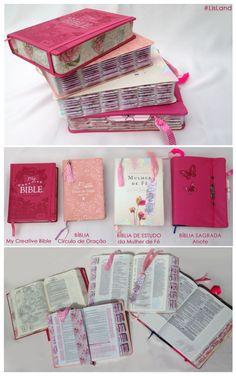 icu ~ na bíblia Bible Love, My Bible, Bible Art, Bible Scriptures, Bible Quotes, Bibel Journal, Bible Study Journal, Lettering Tutorial, Gifts For Office