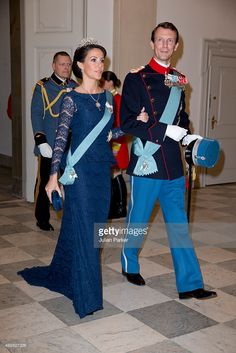 Princess Marie of Denmark and Prince Joachim of Denmark attend a Gala... News Photo | Getty Images