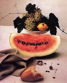 "Irving Penn ""Still Life with Watermelon"" New York, c. 1947 ^^3"