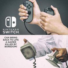 Es cierto Switch a despertado un interés en muchos gamers! #nintendoswitch #nintendo #gamers