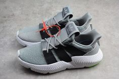 c0bfa722b8a8 New adidas Prophere Shoes Wolf Grey Black Shock Lime-3 Lime