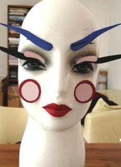 My lovely studio model, June Lisa Eldridge MUA