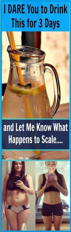 I DARE You to Drink This for 3 Days, and Let Me Know What Happens to Scale