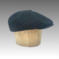 Failsworth Carloway Harris Tweed Cap Peaky Shelby David Beckham Newsboy Blue