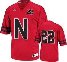 ab2cea428 Nebraska Cornhuskers adidas Youth Unrivaled  22 Replica Football Jersey  Nebraska Cornhuskers