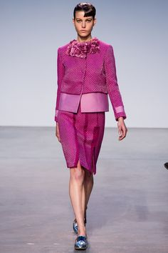 Thakoon | Fall 2013 Ready-to-Wear Collection | Tati Cotliar Modeling | Style.com