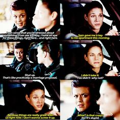 Rookie Blue Season 5 Episode 10 Andy and Chloe