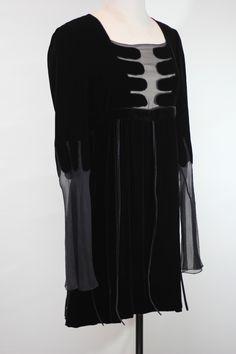 Gucci Black Small Velvet Dress