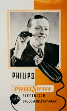 First Philishave a.k.a Cigar ca. 1939