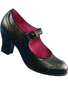 Wingtip 1940s Mary Jane Swing Dance Shoes  $69.95  Store: DanceStore.com