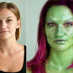 Get the Look: Gamora of Guardians of the Galaxy Makeup Tutorial