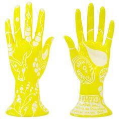 Mão de cerâmica