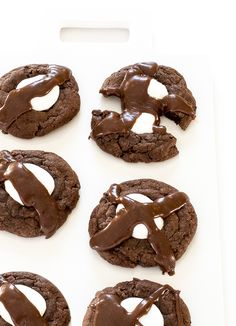Hot Chocolate Cookies. Everything you love about hot chocolate but in cookie form!