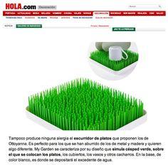 HOLA.COM - Escurreplatos My Garden - http://www.ottoyanna.com/escurridor/1514-escurreplatos-my-garden.html  #MyGarden #escurreplatos #escurridor