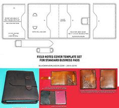SPIRAL BOUND BUSINESS PAD COVER TEMPLATE SET FOR LEATHER CRAFTERS - NEW 2016 in Crafts, Leathercrafts, Leathercraft Tools   eBay!
