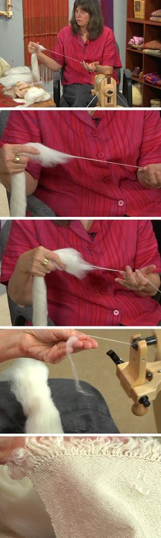 Want to spin the perfect yarns for any weaving project? Sara Lamb gives great tips in her new workshop DVD Spin to Weave!