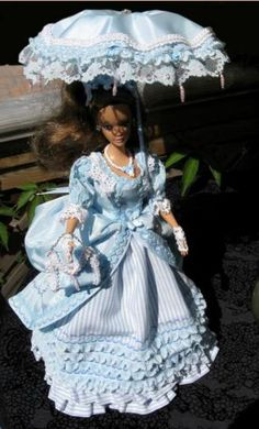 18th Century style Barbie doll