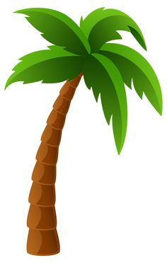 two palm trees png clipart image summer clip pinterest clipart rh pinterest com Palm Tree Outline Clip Art Palm Tree Outline Clip Art