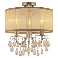 I pinned this Hampton Chandelier from the All That Glitters event at Joss and Main! $330 15H x 14D