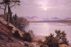 Head of Yellowstone River Thomas Moran 1874