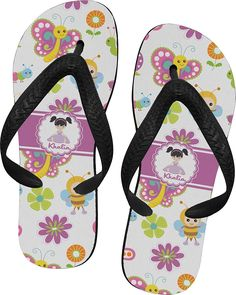 Butterflies Flip Flops ** Want additional info? Click on the image.