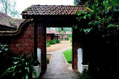 Padippura-entryway or gate of traditional kerala homes