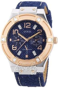 นาฬิกาผู้หญิง GUESS W0289L1 Iconic Blue Denim Multi-Function Watch - http://fashionlovely.com/shop/%e0%b8%99%e0%b8%b2%e0%b8%ac%e0%b8%b4%e0%b8%81%e0%b8%b2%e0%b8%9c%e0%b8%b9%e0%b9%89%e0%b8%ab%e0%b8%8d%e0%b8%b4%e0%b8%87-guess-w0289l1-iconic-blue-denim-multi-function-watch/