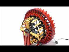 LEGO Harmonic Drive - YouTube Lego Engineering, Lego Technic, Lego Instructions, Legoland, Lego Creations, Lego City, Legos, Projects To Try, Crafts
