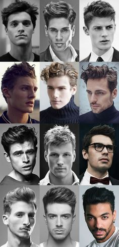 Men's Textured Quiff Hairstyles