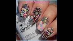 Opal Manicure With Cici&Sisi 31 Stamping Plate - How to Make Opal Nails ...