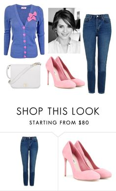 """Put a bow on it"" by sassyladies ❤ liked on Polyvore featuring Topshop, Miu Miu and Furla"