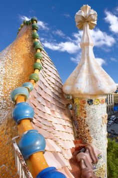 Casa Batlló. 1904-6. Barcelona Spain. Antoni Gaudi.
