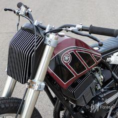 Yamaha Custom by Jake Drummond Designs – BikeBound Ktm Cafe Racer, Cafe Bike, Cafe Racer Motorcycle, Motorcycle Style, Motorcycle Design, Tracker Motorcycle, Moto Bike, Custom Motorcycles, Custom Bikes