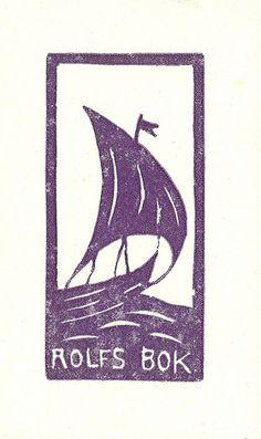 [Ex libris Rolf] by Stifts- och landsbiblioteket i Skara Ex Libris, Locuciones Latinas, Painting Edges, Encaustic Painting, Book Of Kells, Mad Men, Chalk Pastels, Wood Engraving, Linocut Prints